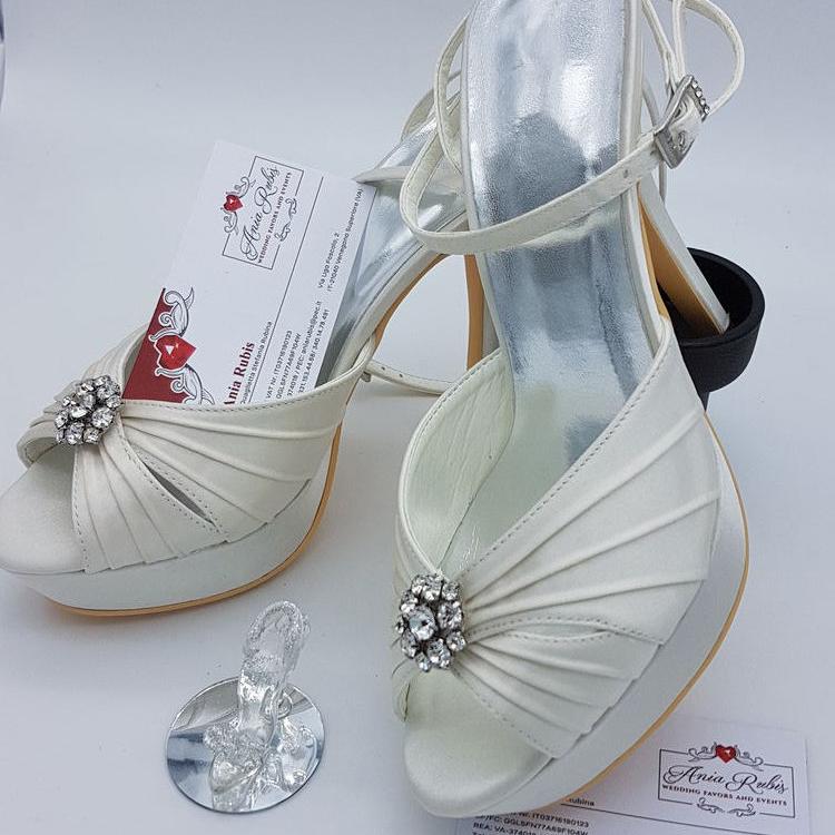 Scarpe Sposa Tacco 13.Ania Rubis Scarpe